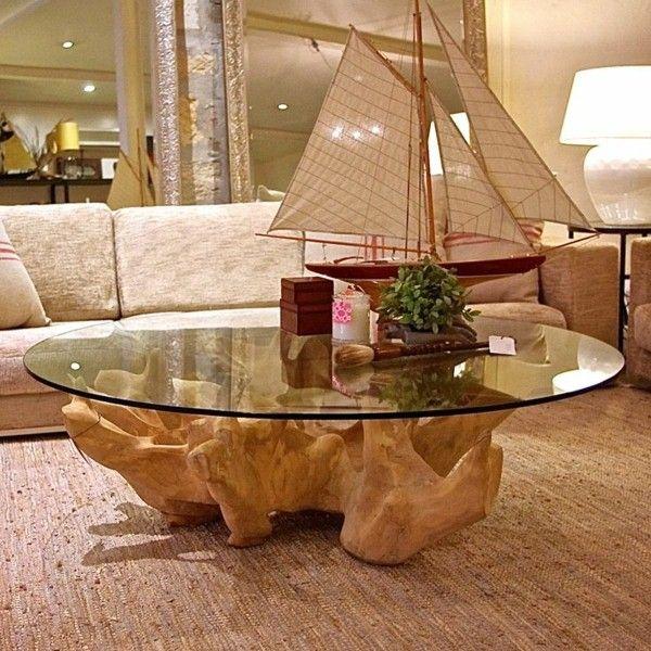 28 besten Tische Deko mal anders Bilder auf Pinterest - couchtisch aus massivholz deko sand
