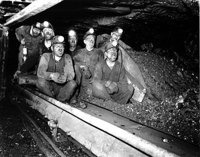 nova scotia coal miners back in the day