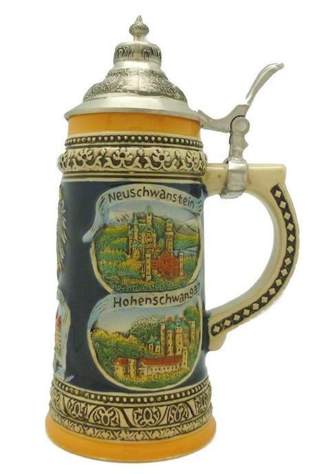 76 Best German Beer Steins Images On Pinterest German Beer Steins Beer Mugs And Ceramica