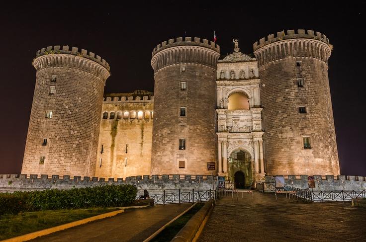 Castel Nuovo in Naples, Italy - Photo by Adam Allegro