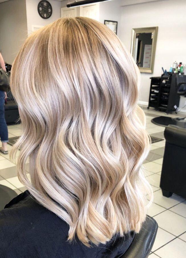 33 schöne Haarideen für blondes Haar
