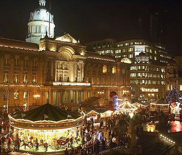 This is a picture of Birmingham Frankfurt Christmas Market & Craft Fair