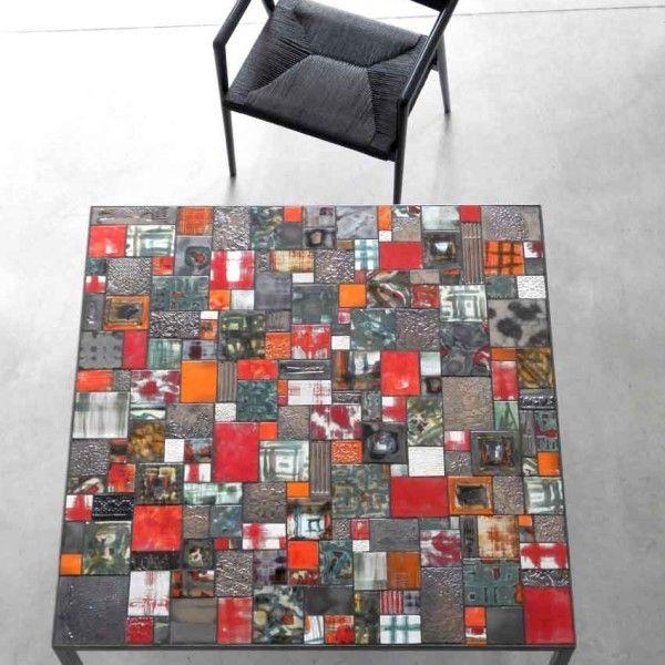 Ceramic Table DIMA art& design. Interior design indoor outdoor table