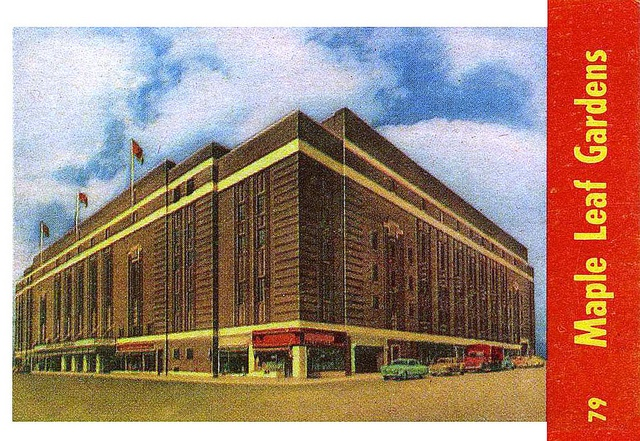 1955-56 Parkies 79 Maple Leaf Gardens