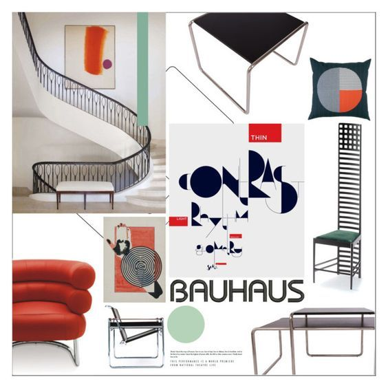 My Interior Moodboards Let's Talk About The Bauhaus Style