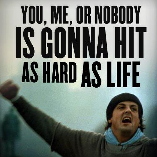 Rocky Balboa...