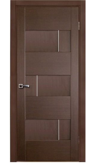 """Dominika"" Wenge Oak Modern Interior Door #doors"
