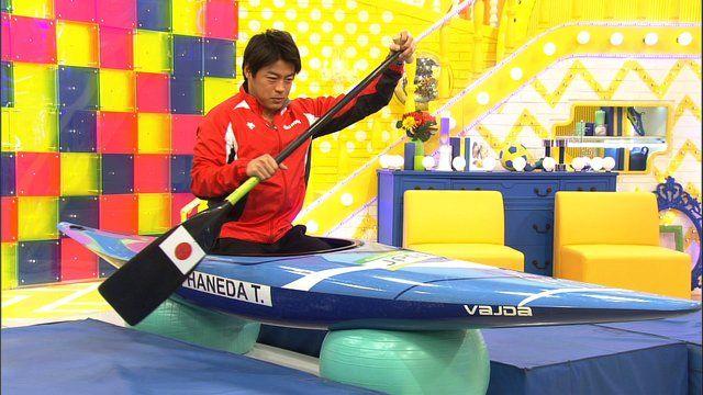 嵐の相葉雅紀がMCを務めるグッと!スポーツ。ゲストはリオ五輪のカヌーで銅メダルを獲得した羽根田卓也選手。激流でカヌーを操る羽根田選手の驚がくの肉体に迫ります。