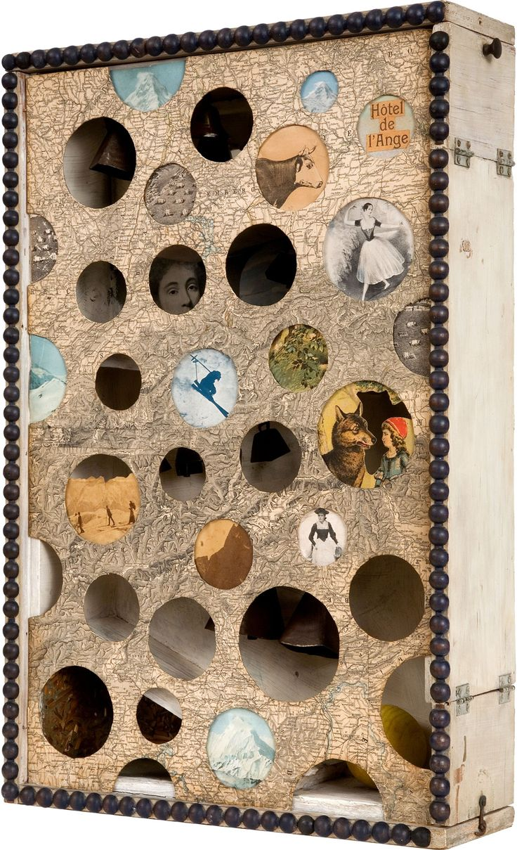 """Joseph Cornell Exhibition - Wanderlust, Summer 2015 @ the Royal Academy of Arts """"From a basement in New York, Cornell channelled his limitless imagination into some of the most original art of the 20th century."""" Images see also the RA """"wanderlust"""" catalogue."""