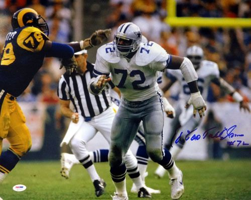 "Ed """"Too Tall"""" Jones Autographed 16x20 Photo Dallas Cowboys PSA/DNA ITP Stock #53210"