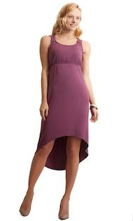 High-low nursing dress Milk nursing wear