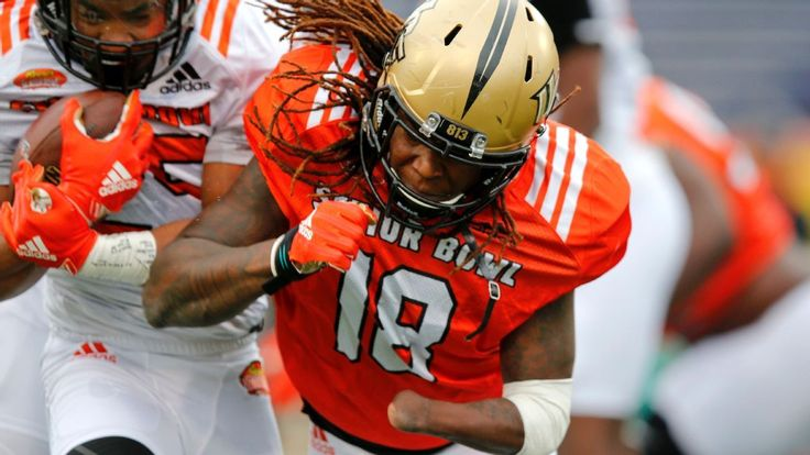 Why Shaquem Griffin is Senior Bowl's most fascinating draft prospect. UCF's one-handed LB with the ever-present smile has played through adversity his whole life, and he's having a blast as curious scouts gauge his fit.