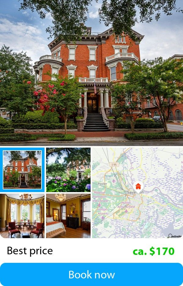 Kehoe House (Savannah, USA) – Book this hotel at the cheapest price on sefibo.