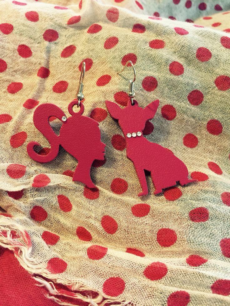 BARBIE&animals collection! #barbie#orecchini#chiguagua#swarovski#color#sun