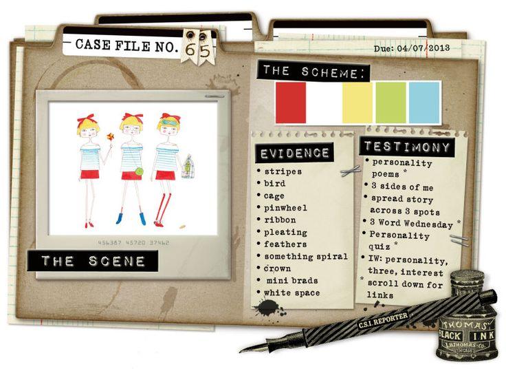 Case File No. 65 {Case Closes on April 7, 2013} - CSI: Color, Stories, Inspiration