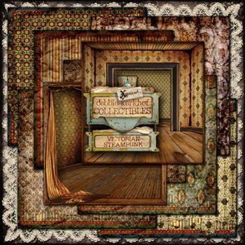 #MischiefCircus2016 Victorian Steampunk Papers by Debbie Kerkhof