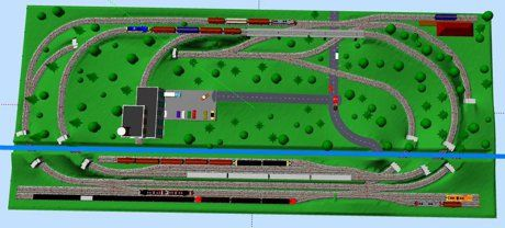 Model Train Layouts & Track Plans in N scale - Various ...