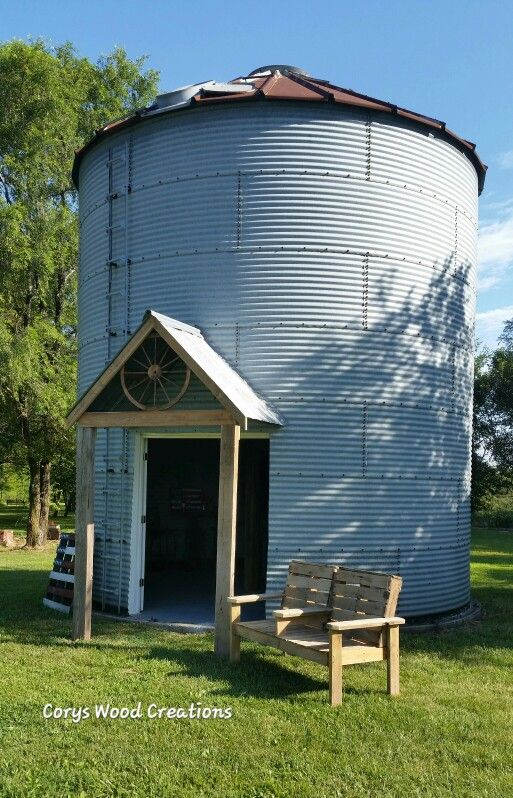 96 best cory 39 s wood creations images on pinterest wood creations shelf and antique furniture for How to build a grain bin swimming pool