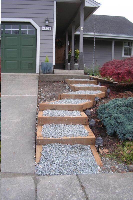 75 best Steep Driveway Solutions & Hillside Landscaping ... on Inclined Backyard Ideas id=71545