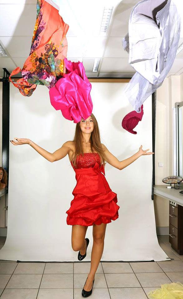 Fashion-Shooting bei Catwalk; Fotograf: William Balser (Euromodels), Make-up: Catwalk