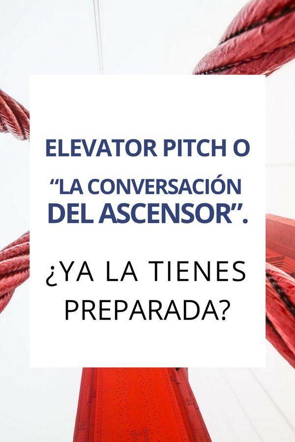 """¡Optimízate! Aprende cómo preparar tu """"elevator pitch"""" para ganar más clientes. #elevatorpitch #motivacion #desarrollopersonal #emprendimiento"""