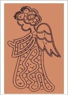Disegno per tombolo 116  http://www.ilgiardinodeipunti.it/prodotti/disegni-per-tombolo/