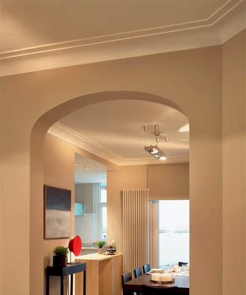 miami art-deco style crown molding