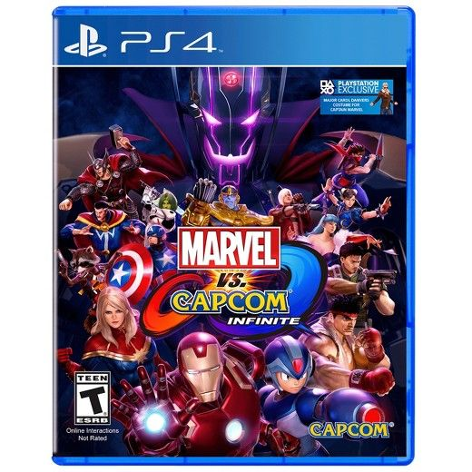 The epic clash between two storied universes returns with Marvel vs. Capcom: Infinite, the next era of the highly revered action-fighting game series. Marvel and Capcom universes collide like never before as iconic characters team up for action-packed player-versus-player combat. Marvel vs. Capcom: Infinite is currently in development and will simultaneously release on the PlayStation 4 computer entertainment system, Xbox One, and Windows PC worldwide in late 2017.<br><br>Imagined...