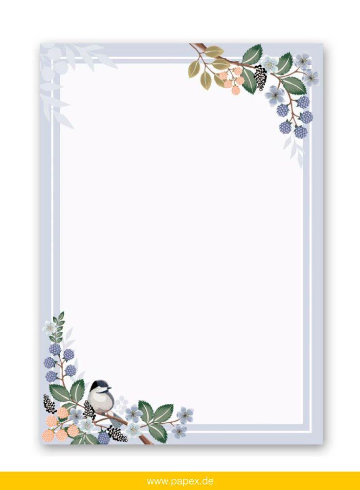 Motivpapier Briefpapier 100 Blatt DIN A4 gelbe Rosen Einladung Geburtstag Blumen