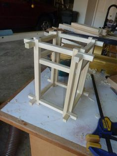 Japanese style lamp #1: Getting Started - by SPHinTampa @ LumberJocks.com ~ woodworking community