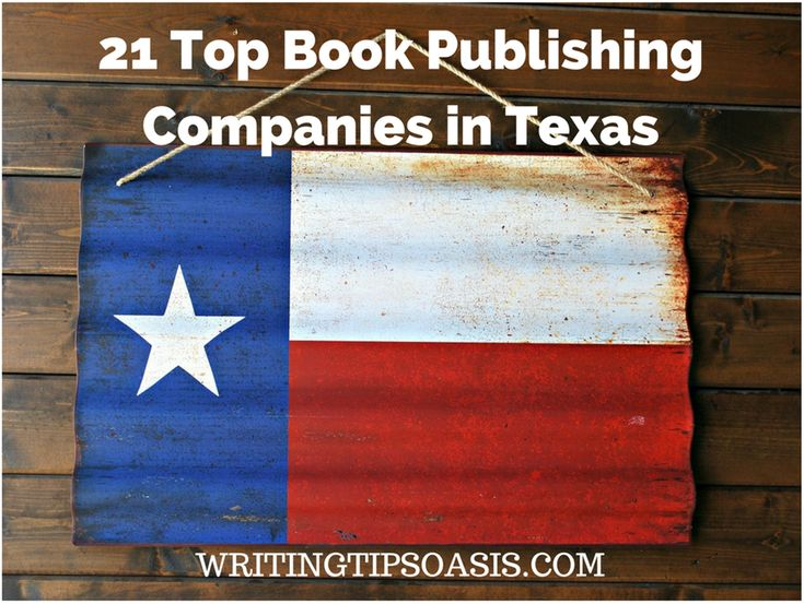 21 Top Book Publishing Companies in Texas