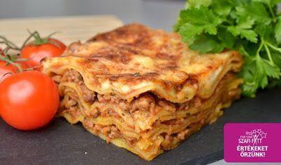 Éhezésmentes karcsúság Szafival - Gluténmentes lasagne