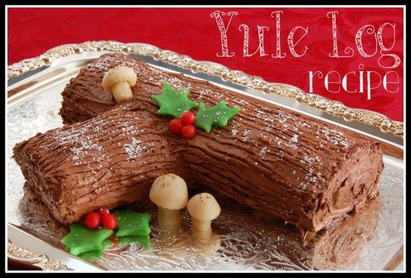 Buche de Noel {Yule Log} Recipe -- Ask Anna