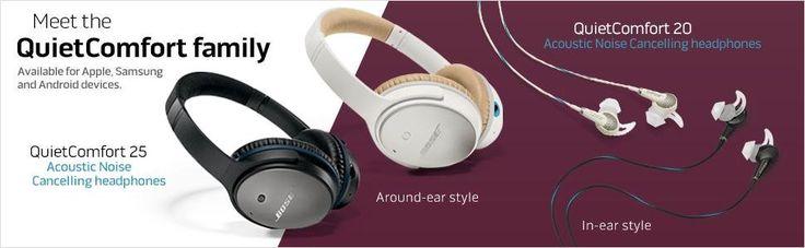 Amazon.com: Bose QuietComfort 20 Acoustic Noise Cancelling Headphones, Samsung…