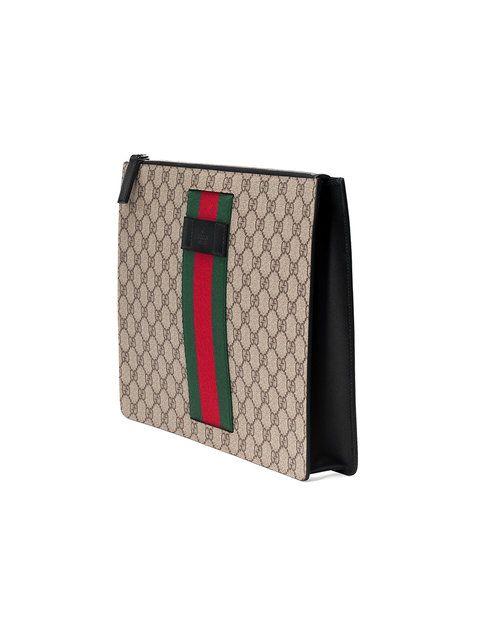 086830c8fbb5 GUCCI GG SUPREME MESSENGER BAG, BEIGE | Bags | Bags, Gucci, Canvas ...