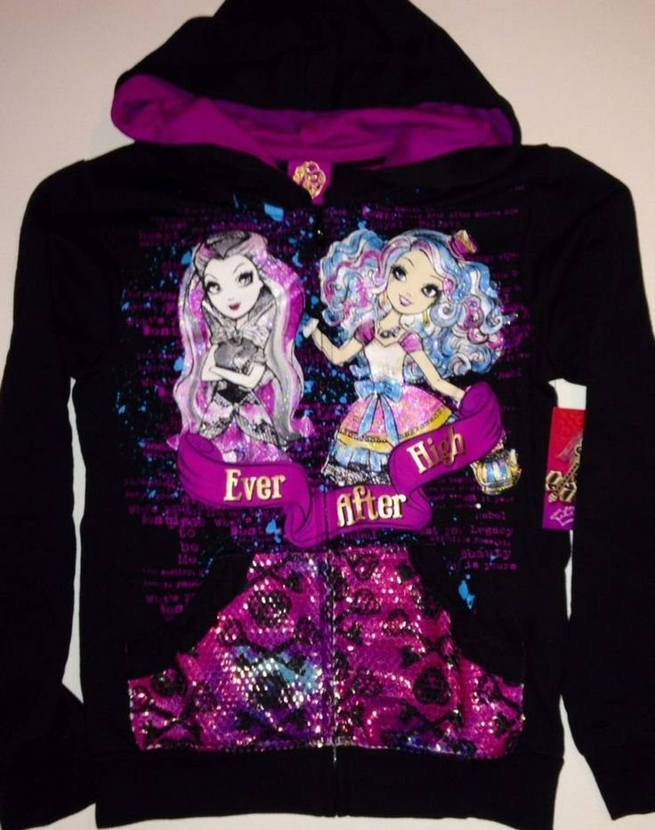 Ever After High Girl's Hoodie Jacket NEW style with tags
