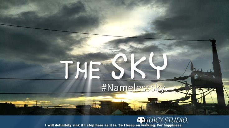 【 Relax - Timelapse 】 The SKY #Namelesssky. - July sky