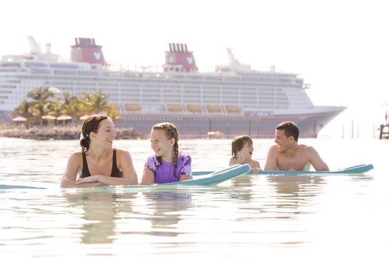"""Have you heard the news? All four Disney Cruise Line ships have been recognized in the top 10 """"Best Cruise Ships for Families"""" by USA Today Readers!"""
