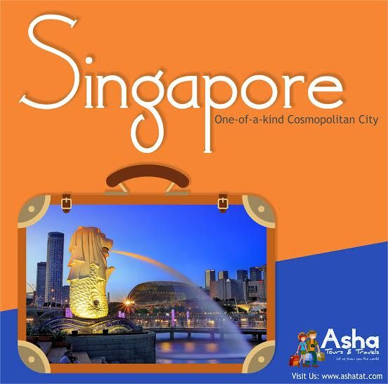 Experience a Collage of Cultures in this One-of-a-kind Cosmopolitan City, Embark on an Enriching Journey in Singapore!! Visit Us: www.ashatat.com ‪#‎AshaTours‬ ‪#‎Travels‬ ‪#‎Singapore‬ ‪#‎City‬ ‪#‎Cultures‬ ‪#‎Experience‬ ‪#‎Enriching‬ ‪#‎Journey‬