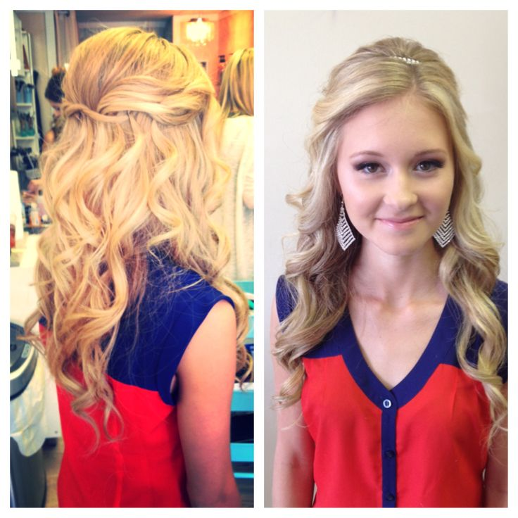 Updo for Prom  #bbbeauty #bbbteam #glam #curls www.brittanybuckhair.com
