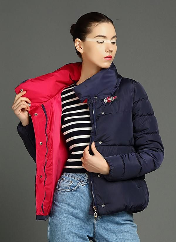 Cotton Filled Puffer Jacket