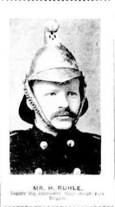 Mr H Ruhle, Superintendent Maryborough Fire Brigade 1911 http://nla.gov.au/nla.news-article19756887