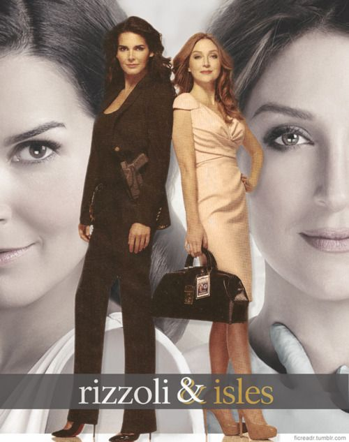 Rizzoli & Isles - series is fun, actors are really good, but read the books!!!!