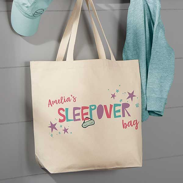Overnight Bag Beach Bag Personalised Bikini Shopping Bag Add a name free
