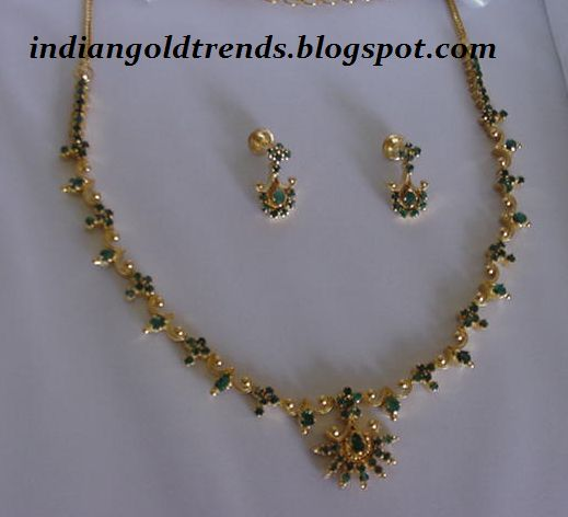 Latest Indian Gold And Diamond Jewellery Designs Simple