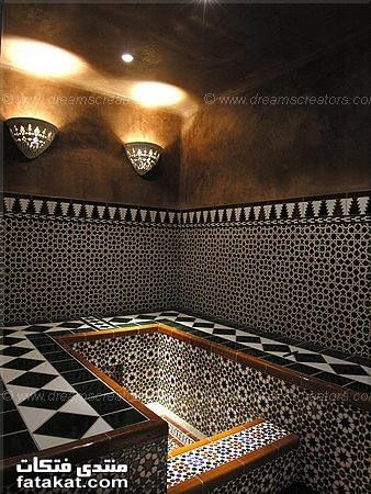 Handmade tiles can be colour coordinated and customized re. shape, texture, pattern, etc. by ceramic design studios Arabic & Moroccan Baths