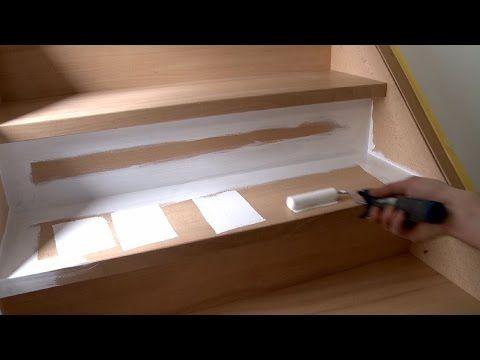 25 beste idee n over verf trap op pinterest geschilderde trap trappen schilderen en trappen - Verf een houten plafond ...