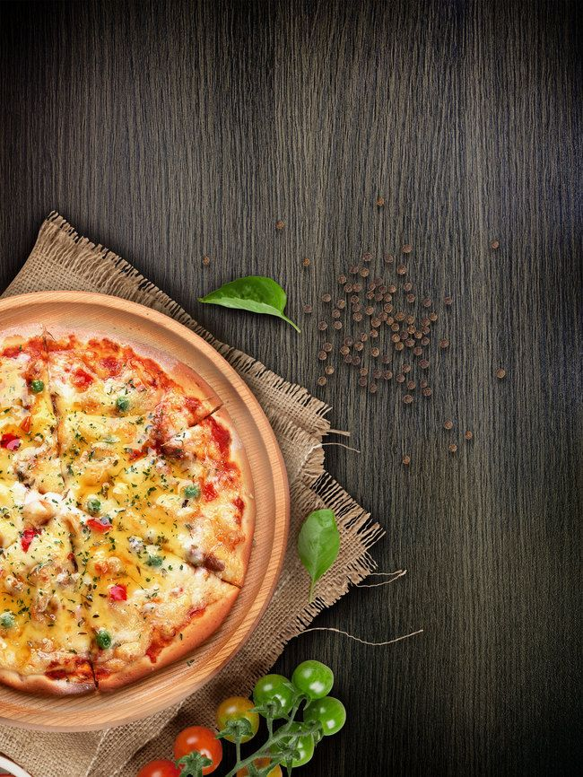 Delicious Pizza Gourmet Poster Background Psd Pizza Menu