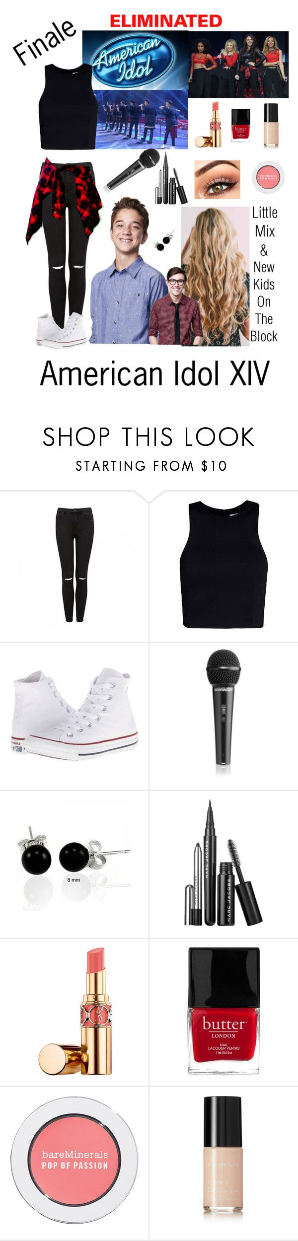 """""""American Idol XIV -Daniel"""" by avaamlong ❤ liked on Polyvore featuring injury, Forever New, T By Alexander Wang, Converse, Bling Jewelry, Marc Jacobs, Yves Saint Laurent, Butter London, Bare Escentuals and shu uemura"""
