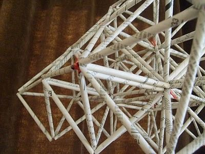 How To: Make This Amazing Geometric Mobile from an Old Phone Book